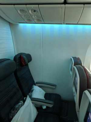 Window, Seat, and For: Paid 125 for window seat.