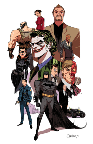 batmananimated:  The Dark Knight Trilogy, comic book version by Dan Mora: Paiergn15 batmananimated:  The Dark Knight Trilogy, comic book version by Dan Mora