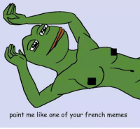 ~ creem: paint me like one of your french memes ~ creem