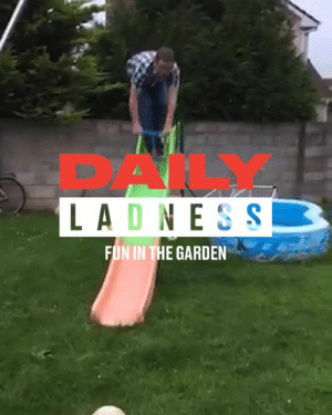 The funniest moments of the summer always happen in somebody's back garden 😂☀: PAK  LADNES S  FUN IN THE GARDEN The funniest moments of the summer always happen in somebody's back garden 😂☀