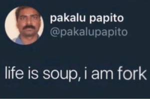 meirl by doggosandcattos MORE MEMES: pakalu papito  @pakalupapito  life is soup, i am fork meirl by doggosandcattos MORE MEMES