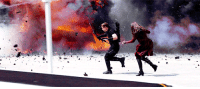 Gif, Meme, and Target: pamelaisley:  GIF REQUEST MEME: favourite familial relationship in the MCU (requested by anonymous) Wanda Maximoff + Clint Barton