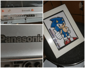 The Worst, Sonic the Hedgehog, and Hedgehog: Panasonfc  +A  TVIAV  STR  Panasonic  SONIC THE HEDGEHOG  ソニック  ヘソジホソグ The worst pun I ever came up with