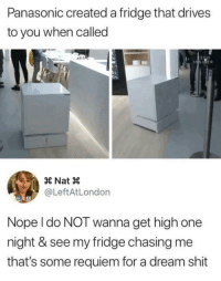 """<p>I want one of these foreal though. Portable boiled egg all day Mm😍 via /r/dank_meme <a href=""""https://ift.tt/2qroANw"""">https://ift.tt/2qroANw</a></p>: Panasonic created a fridge that drives  to you when called  ER  @LeftAtLondon  Nope l do NOT wanna get high one  night & see my fridge chasing me  that's some requiem for a dream shit <p>I want one of these foreal though. Portable boiled egg all day Mm😍 via /r/dank_meme <a href=""""https://ift.tt/2qroANw"""">https://ift.tt/2qroANw</a></p>"""