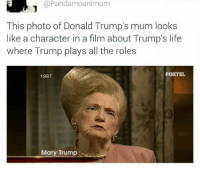 """Life, Memes, and House: @Pandamoanimum  This photo of Donald Trump's mum looks  like a character in a film about Trump's life  where Trump plays all the roles  FOXTEL  1997  Mary Trump <p>Big Momma's House via /r/memes <a href=""""http://ift.tt/2GYJ2g8"""">http://ift.tt/2GYJ2g8</a></p>"""