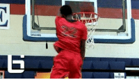 Dunk, Internet, and Memes: PANDIN 4 years ago today, the internet went nuts over this dunk by Kwe Parker! Full Video: https://t.co/zncTFTnwaF https://t.co/rrF14xxVnb