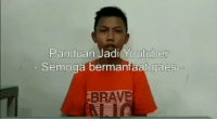 Brave, Indonesian (Language), and Youtuber: Panduan Jadi Youtuber  Semoga bermantaat gaes  BRAVE
