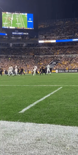 Another angle of @TeamJuJu's incredible grab on the 26-yard @steelers TD! #HereWeGo  📺: #MIAvsPIT on ESPN 📱: NFL app // Yahoo Sports app Watch free on mobile: https://t.co/6BUh9gYAIp https://t.co/3R0g4FoxbS: PANSEL  BUD LIGHT DECK  Steciess  HALL OF HONOR Another angle of @TeamJuJu's incredible grab on the 26-yard @steelers TD! #HereWeGo  📺: #MIAvsPIT on ESPN 📱: NFL app // Yahoo Sports app Watch free on mobile: https://t.co/6BUh9gYAIp https://t.co/3R0g4FoxbS
