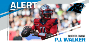 Panthers signing former XFL QB P.J. Walker. (via @RapSheet + @TomPelissero) https://t.co/r4eXIQedN0: Panthers signing former XFL QB P.J. Walker. (via @RapSheet + @TomPelissero) https://t.co/r4eXIQedN0