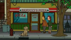 scifiseries:  If it takes forever, I will wait for you for a thousand summers.: PANUCCI'S PIZZA*  PIZZA scifiseries:  If it takes forever, I will wait for you for a thousand summers.