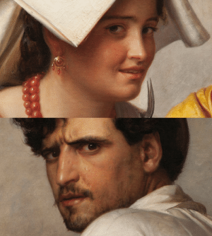 paper-mario-wiki:  closeupofpaintings:   Carl Bloch - In a Roman Osteria, 1866 (detail), oil on canvas   : paper-mario-wiki:  closeupofpaintings:   Carl Bloch - In a Roman Osteria, 1866 (detail), oil on canvas