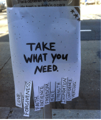 You, What, and Para: Para obteherterdeSLUCT  tran a alitohis o para  TAKE  WHAT you  NEED  은!