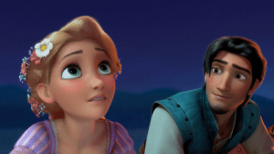 Disney, Gif, and Rapunzel: paradisiak:  anosci:  itsxandy:  disneymoviesandfacts:  According to the animators for Flynn, he's meant to be 26 years old, thus making him 8 years older than Rapunzel, who is 18 in the film - the largest age gap between any other Disney couple.   Kida's 8,800-ish with Milo's 32, that's… an 8,768 year age gap?   o  Everyone forgets about Atlantis and it makes me sad. That movie is a masterpiece!