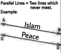 "Http, Indeed, and Islam: Parallel Lines Two lines which  never meet.  Example:  Islam  Peace <p>INVESTING NOW!!!, much potential indeed via /r/MemeEconomy <a href=""http://ift.tt/2BeeypQ"">http://ift.tt/2BeeypQ</a></p>"