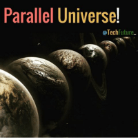 Follow @techfuture_ ______________________________________________ Parallel universe is an astronomical idea or theory that states that there are alternate worlds or universes that exist and are different but similar. For example, in another parallel universe, Earth might have not been hit by an asteroid. We think that the theory is false (due to insufficient evidence). What do you think? Make sure you like and comment!   Photo: Lee Davy: Parallel Universe  @Tech  Future Follow @techfuture_ ______________________________________________ Parallel universe is an astronomical idea or theory that states that there are alternate worlds or universes that exist and are different but similar. For example, in another parallel universe, Earth might have not been hit by an asteroid. We think that the theory is false (due to insufficient evidence). What do you think? Make sure you like and comment!   Photo: Lee Davy