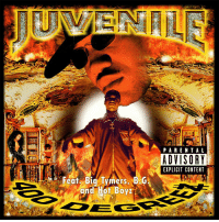 "20 years ago today, Juvenile released ""400 Degreez"" featuring the tracks ""Ha"", ""400 Degreez"", and ""Back That Azz Up"". Comment your favorite song off this classic album below! 👇🔥🎶 @JuvieTheGreat https://t.co/fnU4NX3xqq: PARENTAL  ADVISORY  EXPLICIT CONTENT  Featy Big Tymers BG  and Hot Boy 20 years ago today, Juvenile released ""400 Degreez"" featuring the tracks ""Ha"", ""400 Degreez"", and ""Back That Azz Up"". Comment your favorite song off this classic album below! 👇🔥🎶 @JuvieTheGreat https://t.co/fnU4NX3xqq"