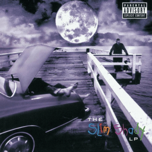 20 years ago today, #Eminem released 'The Slim Shady LP' featuring the tracks 'Role Model', 'Guilty Conscience', 'My Name Is'. Comment your favorite song off this album below! 👇🔥🎶 @Eminem #HipHopHistory https://t.co/VxP1g4RLD6: PARENTAL  ADVISORY  EXPLICIT CONTENT  THE  L P 20 years ago today, #Eminem released 'The Slim Shady LP' featuring the tracks 'Role Model', 'Guilty Conscience', 'My Name Is'. Comment your favorite song off this album below! 👇🔥🎶 @Eminem #HipHopHistory https://t.co/VxP1g4RLD6