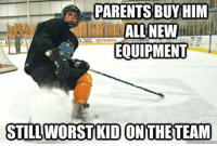 Lol found this somewhere I thought it was funny. - Samurai: PARENTS BUY HIM  ALL NEW  EQUIPMENT  STILL WORST KID ON THE TEAM Lol found this somewhere I thought it was funny. - Samurai