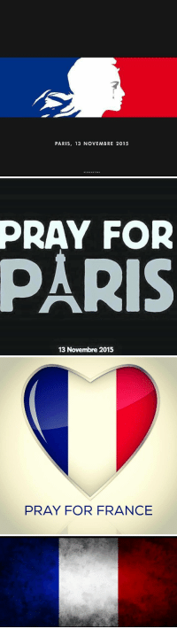 "Tumblr, Blog, and France: PARIS, 13 NOVEMBRE 2015  LESCARTONS   PRAY  FOR  13 Novembre 2015   PRAY FOR FRANCE <p><a href=""http://erikwestrallying.tumblr.com/post/133161263899/rip"" class=""tumblr_blog"">erikwestrallying</a>:</p>  <blockquote><p>RIP<br/></p></blockquote>"
