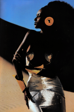 Tumblr, Blog, and Http: parkerandloulou:  Iman by Thierry Mugler, 1985
