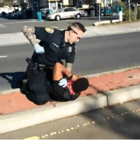 Part 1-2: Officers in Vallejo California abusing a citizen after he sat on the curb to be detained Pt.1! 😳😩😞: Part 1-2: Officers in Vallejo California abusing a citizen after he sat on the curb to be detained Pt.1! 😳😩😞