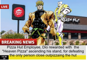 Part 2 of the Pizza Hut Crusaders: Part 2 of the Pizza Hut Crusaders