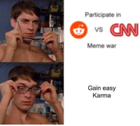 "<p>This format has potential, but if it becomes too much about CNN, sell quickly via /r/MemeEconomy <a href=""http://ift.tt/2tzWO2A"">http://ift.tt/2tzWO2A</a></p>: Participate in  s CNN  Meme war  Gain easy  Karma <p>This format has potential, but if it becomes too much about CNN, sell quickly via /r/MemeEconomy <a href=""http://ift.tt/2tzWO2A"">http://ift.tt/2tzWO2A</a></p>"