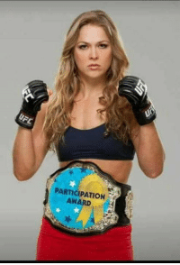 Dank, Ronda Rousey, and 🤖: PARTICIPATION Ronda Rousey