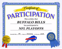 The most important thing is you had fun https://t.co/1dsbMsBczQ: PARTICIPATION  This certifies that  BUFFALO BILLS  has participated in  NFL PLAYOFFS  lay of_ Janyin the year2  Awarded tlhis 7th  IF YOU HAD  FUN,  YOU WON! The most important thing is you had fun https://t.co/1dsbMsBczQ