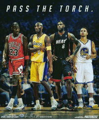 Cavs, Memes, and Bulls: PASS THE TORCH  HEAT  AKERS  30  ARR  HOMETOWN DESIGNS Should Curry be after Bron? PC: @hometown_designs Tags: Bulls Lakers Warriors Heat Cavs NBA