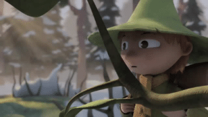 """Tumblr, Blog, and Happy: passionpeachy:  happy pride month moomin accidentally calls his gf""""snufkin"""" while snufkin is down south pretending snow mounds are moomin"""
