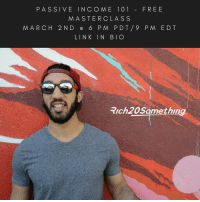 This Thursday, I'm teaching a free masterclass about passive income and how you can earn it through an online biz. Save your spot! Link in Bio: PASSIVE IN C O M E 1 0 1 FREE  MASTERCLASS  M ARC H 2 N D e 6 P M PDT 9 P M EDT  LINK IN BIO  Trch20Samething. This Thursday, I'm teaching a free masterclass about passive income and how you can earn it through an online biz. Save your spot! Link in Bio