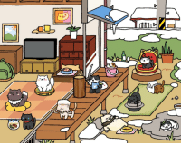 Target, Tumblr, and Blog: pastaaaaaaa:Neko Atsume Nekotalia. I used a picture for France and Russia. I don't know the original artist but everything else is by me