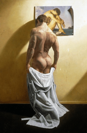 pastmalebeauty:The Morning After by Victor Gadino (Final Painting): pastmalebeauty:The Morning After by Victor Gadino (Final Painting)