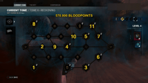 Path for banking bloodpoints with tome 2 - level 4 for future releases / PTB: Path for banking bloodpoints with tome 2 - level 4 for future releases / PTB