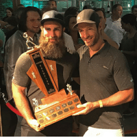 Patrick Eaves won his third consecutive Smashfest on Thursday evening! (a yearly charity event in Toronto, hosted by former - and now current - Maple Leaf, Dominic Moore) NHLDiscussion: Patrick Eaves won his third consecutive Smashfest on Thursday evening! (a yearly charity event in Toronto, hosted by former - and now current - Maple Leaf, Dominic Moore) NHLDiscussion