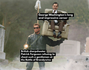 Patrick Ferguson was a true soldier until the end: Patrick Ferguson was a true soldier until the end