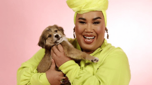 Patrick Starrr comes in to play with the pups while answering your questions about life, makeup, and of course, RuPaul's Drag Race.: Patrick Starrr comes in to play with the pups while answering your questions about life, makeup, and of course, RuPaul's Drag Race.
