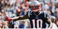 """Comfortable, Memes, and Patriotic: PATRIOTS  310 .@JOSH_GORDONXII feeling """"comfortable as ever"""" after @Patriots debut: https://t.co/dCtP7YGh2N https://t.co/GvC3KKiuZT"""