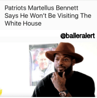 "Bill Belichick, George W. Bush, and Memes: Patriots Martellus Bennett  Says He Won't Be Visiting The  White House  aballeralert Patriots Martellus Bennett Says He Won't Be Visiting The White House - blogged by: @eleven8 ⠀⠀⠀⠀⠀⠀⠀⠀⠀ ⠀⠀⠀⠀⠀⠀⠀⠀⠀ It's been customary over the years for the winners of championships to be honored at the WhiteHouse. President Obama has hosted everyone from the Cubs to the Miami Heat. With Donald Trump being good friends with TomBrady, Robert Kraft and Bill Belichick, it's no question that the SuperBowl51 champs will be heading to the White House soon. ⠀⠀⠀⠀⠀⠀⠀⠀⠀ ⠀⠀⠀⠀⠀⠀⠀⠀⠀ One player in particular will not be attending. Following Sunday's Super Bowl win over the Atlanta Falcons, Patriots MartellusBennett says that he will be skipping out on meeting the president at the White House. ⠀⠀⠀⠀⠀⠀⠀⠀⠀ ⠀⠀⠀⠀⠀⠀⠀⠀⠀ ""I'm not going to go,"" the tight end said in a postgame interview. When asked why, Bennett responded, ""It is what it is. People know how I feel about it. Just follow me on Twitter."" ⠀⠀⠀⠀⠀⠀⠀⠀⠀ ⠀⠀⠀⠀⠀⠀⠀⠀⠀ Bennett has been very vocal on Twitter about his thoughts on Trump's policies. On Monday, during Super Bowl media day, Bennett told reporters that if the Pats won he wouldn't be meeting Trump, ""because I don't support the guy in the house."" ⠀⠀⠀⠀⠀⠀⠀⠀⠀ ⠀⠀⠀⠀⠀⠀⠀⠀⠀ Bennett wouldn't be the first athlete to skip out on a visit to the White House. In 2015, TomBrady did not meet with PresidentObama, nor did Tim Thomas after the Bruins won the Stanley Cup in 2011. Steelers' JamesHarrison declined to attend in 2006 and 2009, citing that it wasn't that big of a deal. After the Red Sox won the World Series, MannyRamirez decided not to meet George W Bush. Let's not forget MichaelJordan choosing to celebrate with his family over George H. W. Bush in 1991."