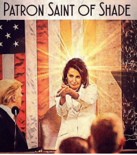 Thanks Amanda K: PATRON SAINT OF SHADE Thanks Amanda K