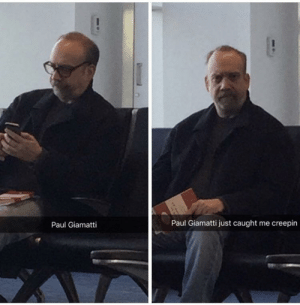 Acting, Never, and Paul: Paul Giamatti  Paul Giamatti just caught me creepin That moment you realize he was never acting