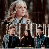 Memes, 🤖, and Paul: Paul. Wesley ig  Why do I always have to  be Klaus bait?  Because he's obsessed with you. ↳ I still ship Klaus with Caroline 😂 qotd : do you ship klaroline?? — follow @riverfeed please ❤️☺️