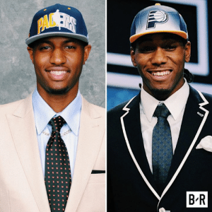 "The Pacers ""drafted"" Kawhi Leonard and Paul George in back-to-back years, but they traded the Kawhi pick to the Spurs for George Hill.  ""What could've been..."" is becoming reality with LAC: PAVSER  B R The Pacers ""drafted"" Kawhi Leonard and Paul George in back-to-back years, but they traded the Kawhi pick to the Spurs for George Hill.  ""What could've been..."" is becoming reality with LAC"