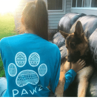 Thanks @karen.gisselle for the support in our sapphire tribal shirt! And happy birthday to her dog @yuppie.meetsworld 🐶: PAW Thanks @karen.gisselle for the support in our sapphire tribal shirt! And happy birthday to her dog @yuppie.meetsworld 🐶