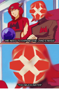 """Remember this meme? good times, IGN..  - Sinnoh: PA""""WE NEED TO EXPAND THE LAND'S MASS""""  """"TOO MUCH WATER"""" Remember this meme? good times, IGN..  - Sinnoh"""