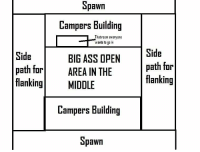Ass, Big Ass, and Black: pawn  Campers Building  That room everyane  wants to ga in  Side  path far  flankingMIDDLE  Side  path far  flanking  BIG ASS OPEN  AREA IN THE  Campers Building  pawn Call of Duty maps since Black Ops III https://t.co/dOV12xZOgH