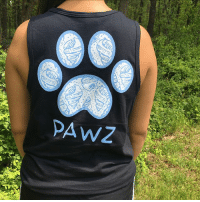 Memes, 🤖, and Tank: PAWZ All NEW triton print tank top! Now available at PawzShop.com