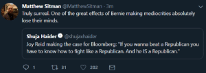 paxamericana:absolutely hilarious to watch the people who just spent four years screeching that sanders isn't really a democrat endorse a republican : paxamericana:absolutely hilarious to watch the people who just spent four years screeching that sanders isn't really a democrat endorse a republican