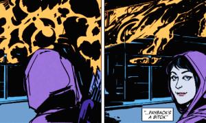 "isometimes-saythewrong-cranberry:  comics-panels:   Kate Bishop in Hawkeye Vol. 4 (2012-2015), #020   : ""...PAYBACK'S  A BITCH isometimes-saythewrong-cranberry:  comics-panels:   Kate Bishop in Hawkeye Vol. 4 (2012-2015), #020"